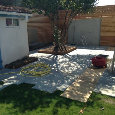 Jardin Anglet patio
