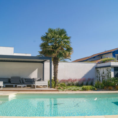 Paysagiste Anglet pool house